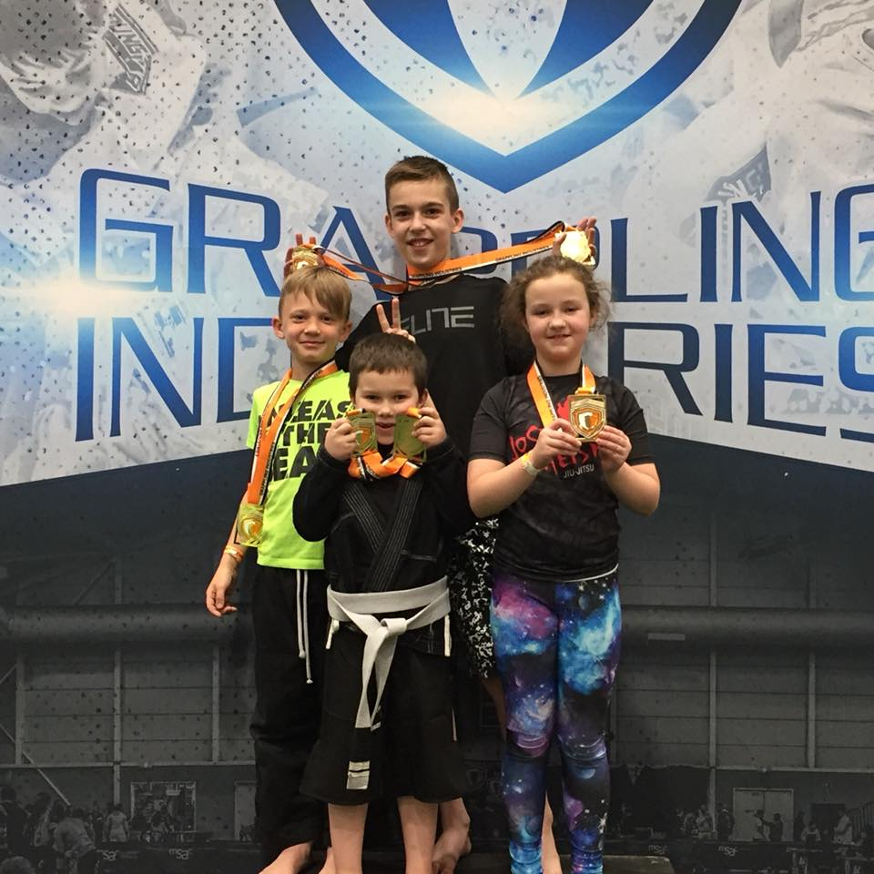Grappling Industries Tournament Results - Quest for Black Belt